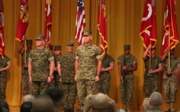 3rd Marine Logistics Group Transfer of Command Ceremony