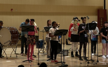 MC Perry High School students play music for their Spring Cosplay Concert (B-Roll)
