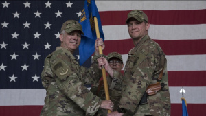 455th welcomes incoming commander Brig. Gen. David Lyons