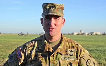 Interview with the TF VIPER Battalion Commander during Saber Strike 18 at Inowroclaw Poland airfield