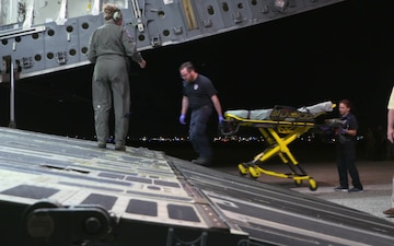 Landing and Offloading of Aeromedical Evacuation for Fuego Relief (Part 3)