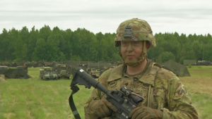 Lithuanian U.S. Soldier Interview - Saber Strike 18