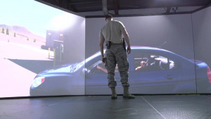 Security Forces Airmen conduct virtual training with U.S. Marshals