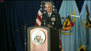 Joint Chiefs Vice Chairman Speaks at National Defense University Graduation