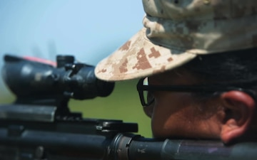 Marine recruits learn marksmanship fundamentals on Parris Island