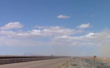 Holloman High Speed Test Track B-Roll