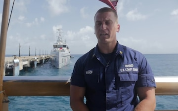 Bel Air Native Participates in International Training Exercise with the Coast Guard
