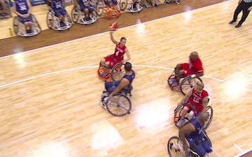 Top Plays Wheelchair Basketball Finals