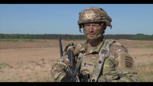 82nd Airborne Division participates in exercise Swift Response (B-Roll)