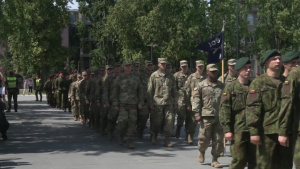 25th Anniversary Parade for Pennsylvania National Guard and Lithuania's State Partnership Program