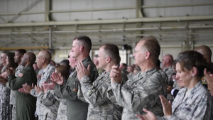 145th AW Change Of Command