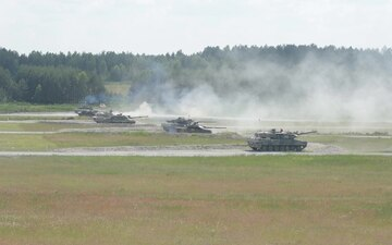 Strong Europe Tank Challenge 2018 Friendship Shoot