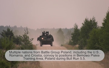 Convoy operations during Bull Run 5.5