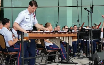 Coast Guard Band Xylophone Solo