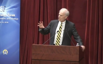Secretary of the Navy keynote address at U.S. Naval War College Current Strategy Forum