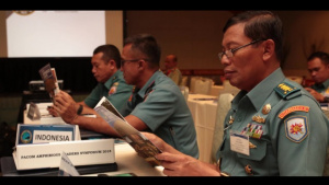 PALS 2018: Indonesia Nur Alamsyah participates in Pacific Amphibious Leaders Symposium
