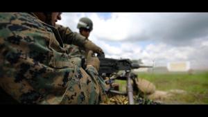 Delta Co. M2A1 Live Fire Range