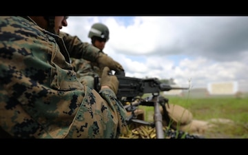 Delta Co. M2A1 Live Fire Range