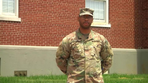 PFC Watkins wishes the Army a Happy 243rd Birthday.