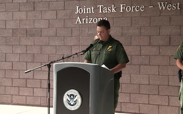 Tucson Sector Press Conference on Agent Shooting
