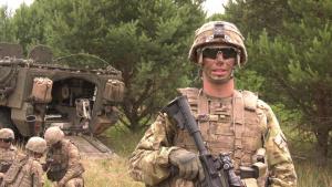 U.S. Mortar Operations During Saber Strike 18