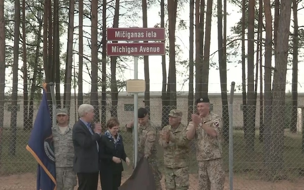 Michigan Governor Snyder visits Latvia