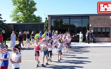 USACE Buffalo District Deputy Commander leads Flag Day Ceremony at local elementary school