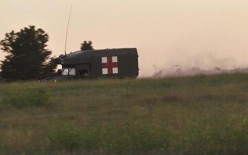 Arkansas National Guard Medical Company Assists at Operation Western Strike