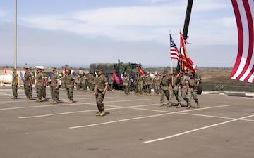 Marine Raider Support Battalion welcomes new commanding officer