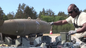 Saber Strike 18, Colorado ANG 500 pound Bomb Load