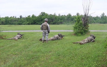 172nd Cavalry C-Troop Conducts Live Fire Exercises