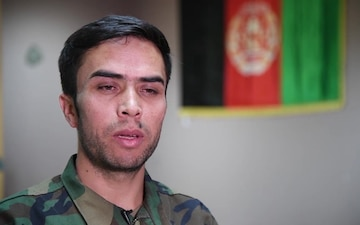 Afghan National Army Soldier Speaks About His Service