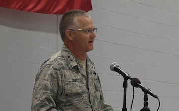 Vermont Guard Aviation Sendoff Ceremony - The Adjutant General Comments
