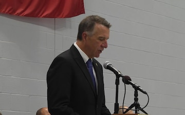Vermont Guard Aviation Sendoff Ceremony - The Governor of Vermont Comments