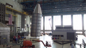Titan IVB Payload Fairing Assembly Video