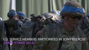 U.S., NATO Forces Participate in Exercise Saber Strike 2018