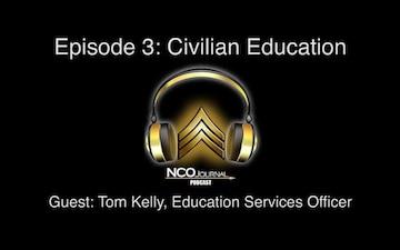 NCO Journal Podcast: Civilian Education