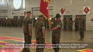 Parris Island Welcomes New Commanding General