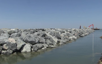 Jetties at Rhodes Point on Smith Island