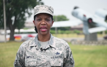 SMSgt Carole Lampley Rays Shout-out