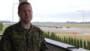 Saber Strike 18, Interview with the Acting Commander, Estonian Air Force.
