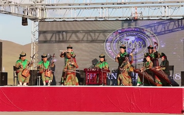 Mongolians share culture through song, dance