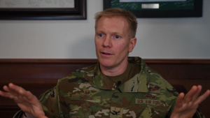 Col Paul Birch, 93 AGOW/CC Introduction Interview