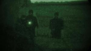 Combat marksmanship coaches class conduct night shoot