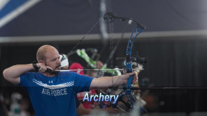 Russell Logan Competes at the Wounded Warrior Games