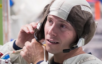 Air Force Astronaut Nick Hague