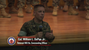 Headquarters and Support Battalion Change of Command Ceremony