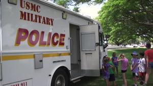 MCBH hosts ASYMCA Camp Hero tour