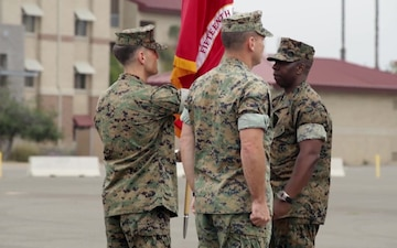 BROLL 15th MEU change of command, relief and appointment
