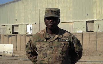 Spc. Shannon Brown